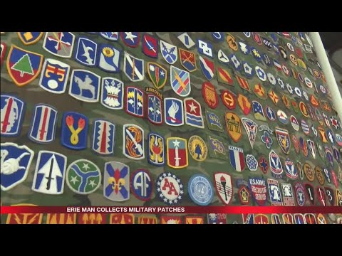 Jack Dana Military Patch Collection