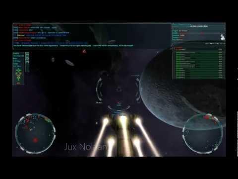 Vendetta-Online 3rd person heavy ship flare+rail setups
