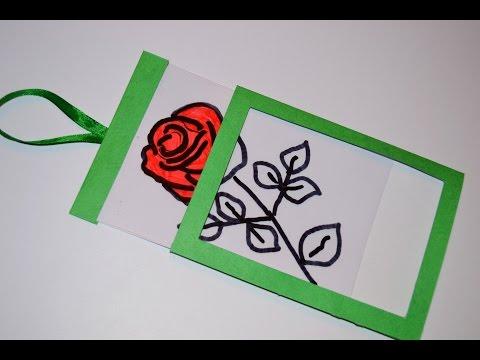 Открытка-фокус на День Рождения  ! своими руками Card-trick on Birthday - Познавательные и прикольные видеоролики