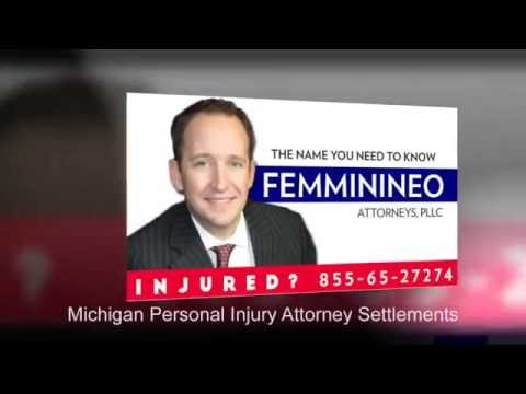 Michigan Personal Injury Attorney Settlements | 85565CRASH.com