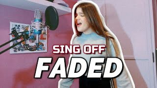 Gambar cover FADED - Alan Walker (SING OFF) | Andrewws