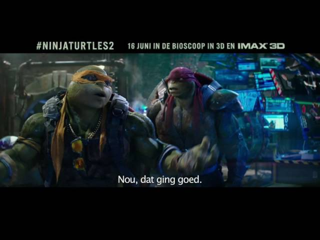 Ninja Turtles: Out of the Shadows | 16 juni in de bioscoop in 3D en IMAX 3D