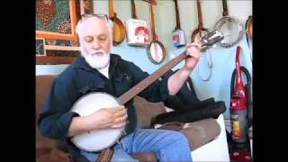Kay closet banjo tune up fix up 1