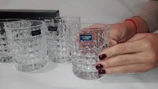 Стаканы для виски Bohemia Diamond 230 мл-6шт - обзор