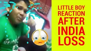 ICC Champions Trophy 2017 - Little Boy Reaction After India Loss - Hardik padya Vs Jadeja