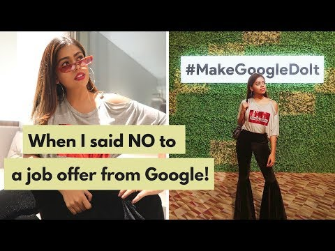 #VLOG 5 - When I said NO to a job offer from Google and the launch of Google Home in India!