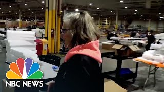 Inside Ford Automotive Factory Producing Medical Equipment To Fight COVID-19   NBC News NOW