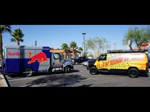 Red Bull Air Race LiveWire Energy Van Kicked Out Las Vegas Speedway