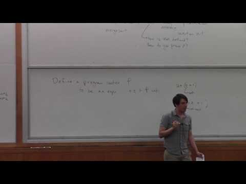 Programming Languages Background - Lecture 2