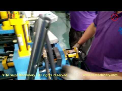 STM customized tube holes punching machine with mandrel episode 3