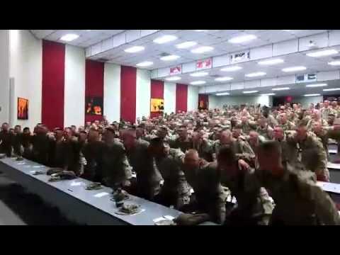 American marines singing