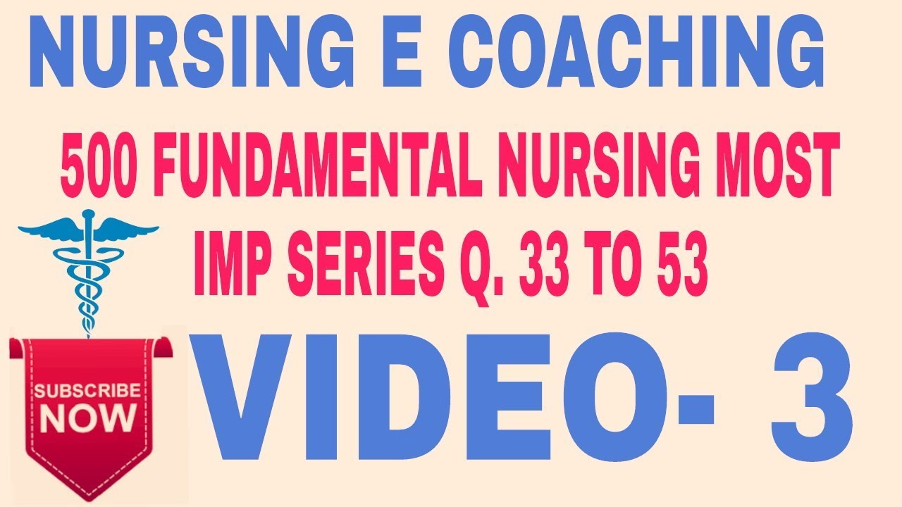 FUNDAMENTAL MOST IMP QUESTIONS FOR ALL NURSING EXAMS