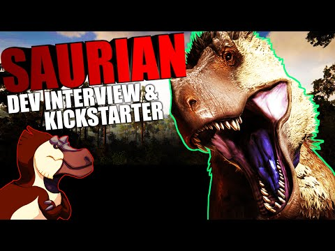 Saurian - DEV INTERVIEW, KICKSTARTER, LIFE CYCLES, MATING, COURTING, DINOSAURS (Saurian Gameplay)