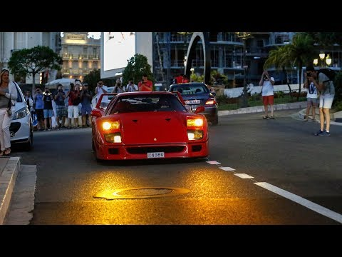 Supercars in Monaco 2017 - VOL. 25 (Huayra Pearl, 2x LaFerrari, ONE:1, F40, Veyron, 2x Huayra)