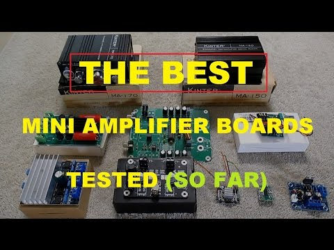 The BEST low cost audio amplifier boards I've tested