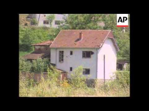 Kosovo - KLA village