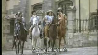 The Musketeers 39 Song Песня мушкетеров with English lyrics