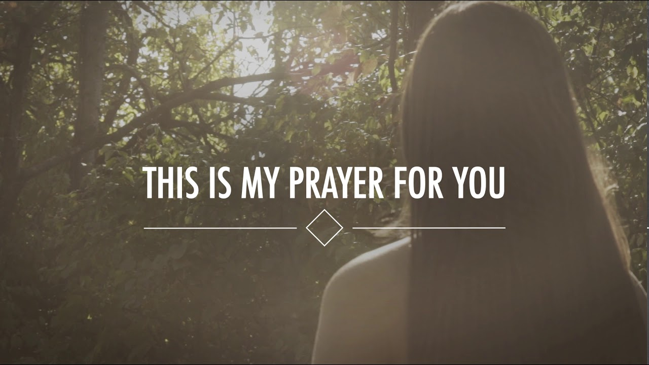 Alisa Turner My Prayer For You Official Lyric Video Youtube