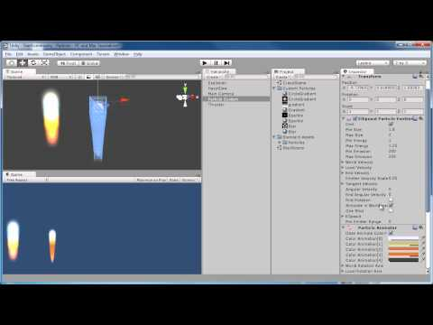 Unity: Getting Started with Particles