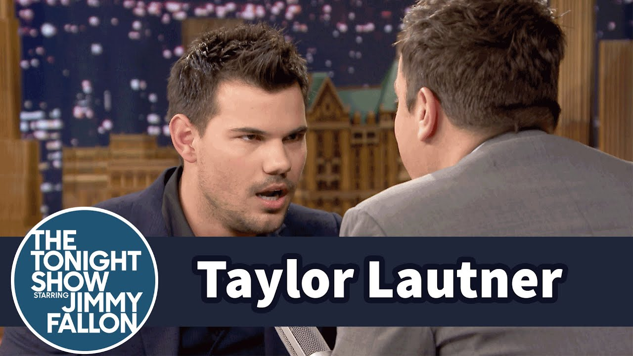 Taylor Lautner Teaches Jimmy the Milky Cow Game - YouTube Taylor Lautner Fat