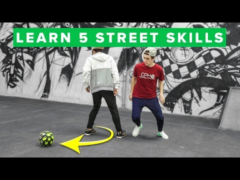 TOP 5 EASY STREET SOCCER SKILLS  Learn them today!