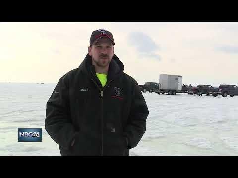 Ice conditions improve on Lake Winnebago