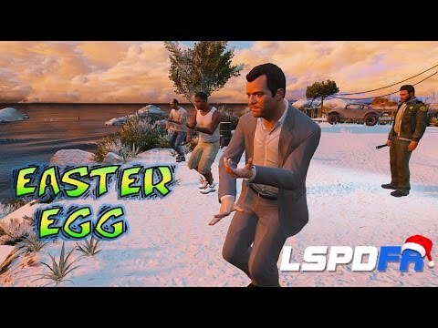 GTA 5 LSPDFR - Trevor Michael Franklin Easter Egg!