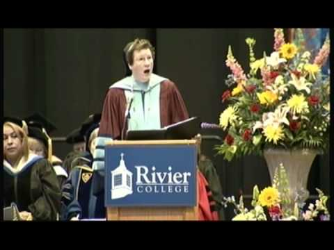 Rivier College - Commencement 2012 - Sister Paula Opening Remarks