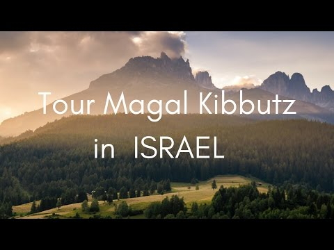 Tour a Kibbutz in Magal 🇮🇱 with DigitalNomadFamily.com