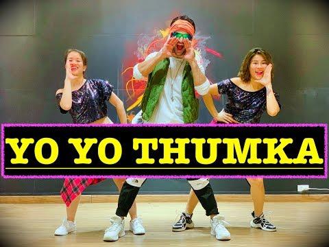 THUMKA : YO YO Honey Singh | BOLLYWOOD ZUMBA | Easy Steps | Pagalpanti | VISHAL CHOREOGRAPHY |