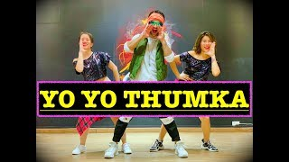 YO YO Honey Singh Thumka | BOLLYWOOD ZUMBA | Easy Steps | Pagalpanti | VISHAL CHOREOGRAPHY |