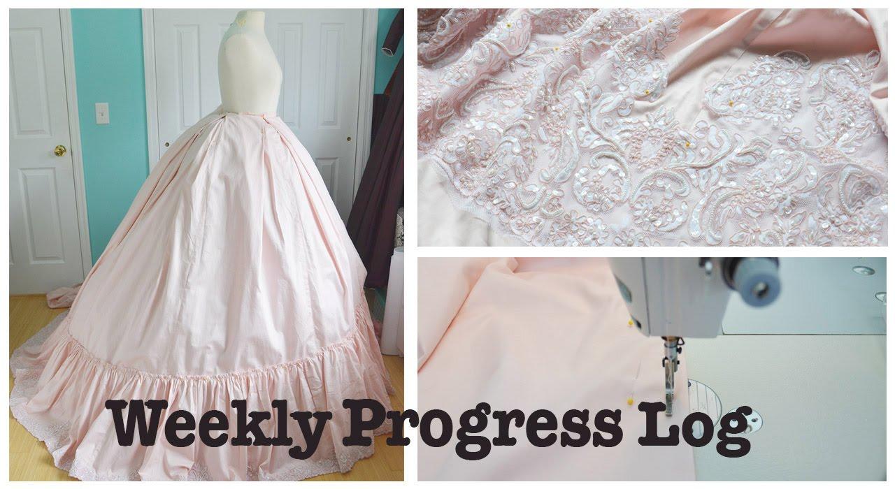5d2481686feb4 Weekly Progress Log #3 : Sewing & Costumery - YouTube