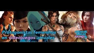 Personajes femeninos en videojuegos actuales - Charla MGE 2016