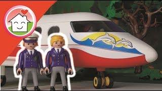 Playmobil Polizei Film Die Flugzeug Notlandung mit Kommissar Overbeck