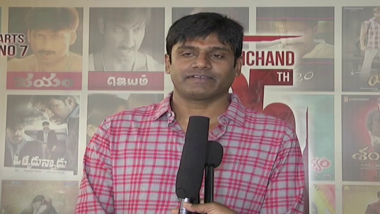 Director Chakravarthi Speech   Gopichand 25th Movie   Mehreen   Radha Mohan    YOYO Cine Talkies