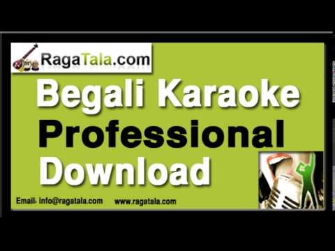 Asbo aar ekdin aaj jai - Bengali Karaoke - Asha Bhosle
