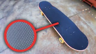 SKATEBOARDING WITH RUBBER GRIPTAPE?!