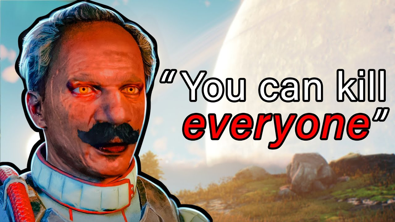 Download You can kill any NPC in Outer Worlds so I tried killing ALL of them