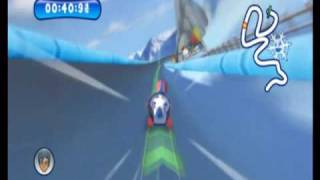 Mountain Sports (Wii) Gameplay: Bobsledding