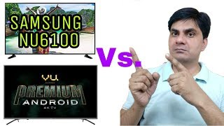 Samsung NU6100 Vs VU Premium Android 4k Ultra Hd Led Tv