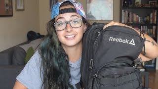 WHAT'S IN MY PURSE?! (gym bag)