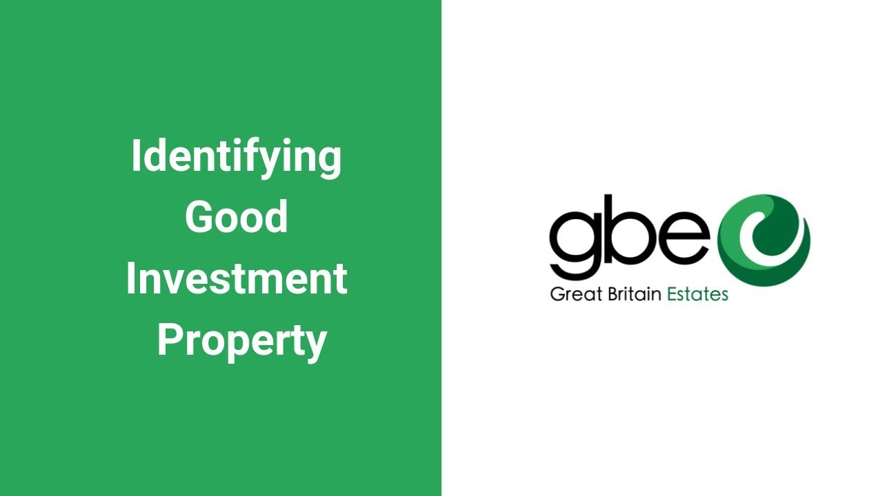 Identifying Good Investment Property