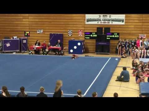 Ellie Morris - New Prague Gymnastics Club - MAGA State 2016