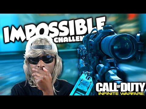 IW TOO DAMN DIFFICULT... (COD Infinite Warfare Challenges)