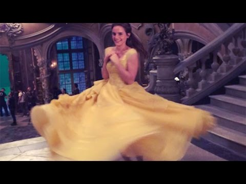 Thumbnail: Emma Watson Shares Sweet 'Beauty and The Beast' Behind-the-Scenes Moment