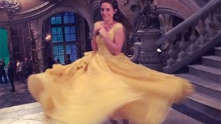 Emma Watson Shares Sweet 'Beauty and The Beast' Behind-the-Scenes Moment