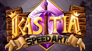 Kastia Minecraft Server Logo -  SpeedART(This is a logo design for the Kastia Server. We were asked to make this by some of the cube members, who are running the Kastia Server! Check it out: ..., 2014-10-25T20:18:12.000Z)