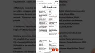 MİQ-İbtidai-Son kompetensiyalara uyğun hazırlanmış sınağın izahı-Ülvi Osmanov