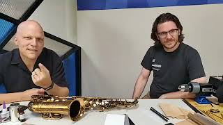 Friday Facebook Live: Silencing Saxophone keywork