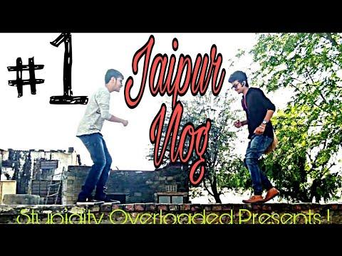 JAIPUR VLOG #1 | TANISHQ SISODIA | VISHAL BHAVNANI - PINK CITY VIEW | W/ Shaurya Agrawal